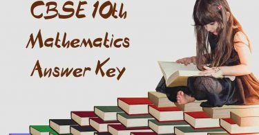 CBSE Class 10th Math Answer Key 2020