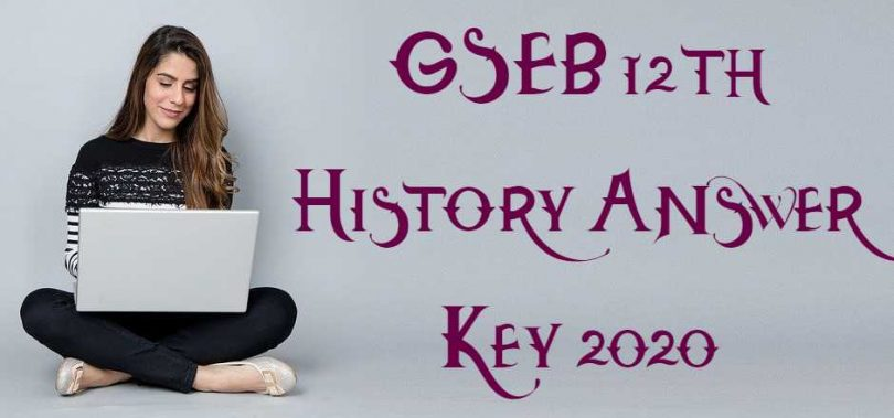 GSEB 12th History Answer Key 2020